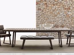 Teak Garden Table Gio Garden Table By B U0026b Italia Outdoor Design Antonio Citterio