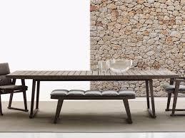 Garden Table Gio Garden Table By B U0026b Italia Outdoor Design Antonio Citterio