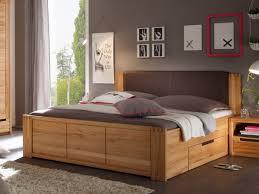 Schlafzimmer Betten Mit Schubladen Charles Doppelbett 180x200 Kernbuche Teilmassiv