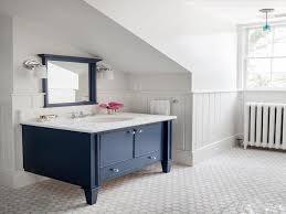 Navy Blue Bathroom Ideas Plain Navy Blue Bathroom Vanity 1616230763 Throughout Design