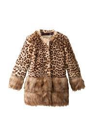 monnalisa kid s faux fur coat at myhabit all things leopard