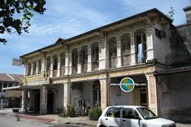 pre war architecture seven streets precinct george town penang pulau pinang
