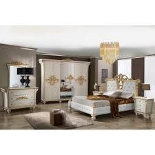 d orer chambre adulte tatiana laque ivoire et dore ensemble chambre a coucher