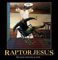Meme Raptor - image 193102 raptor jesus know your meme