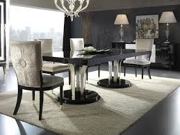 Modern Contemporary Dining Table Lush Modern Design Dining Tables Size Glass Dining