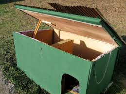 Rabbit Hutch Diy Building A Dog House And Rabbit Hutch Living A Simple Life