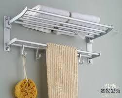 Bathroom Towel Shelves Bathroom Shelves With Towel Bar My Web Value