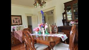 my victorian dining room tour youtube