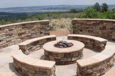 Custom Fire Pit circular fire pit crafts home