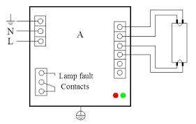 75w 425ma uv electronic ballast