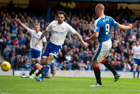 rangers 3 peterhead 0 league cup first round daily record