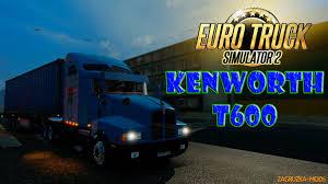 2016 kenworth t600 kenworth t600 interior v1 0 1 22 x for ets 2 zagruzka mods