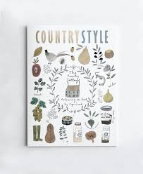 country style colouring book illustrated by ryn frank for sale now