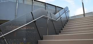 Handrails Brisbane Brisbane Ferry Terminals Perforated Metal Balustrade Panels