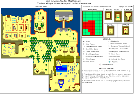 The Legend Of Zelda A Link Between Worlds Map by The Legend Of Zelda A Link Between Worlds Lorule Thieves Village