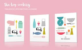 affiche deco cuisine tableau design et affiche moderne déco pop et vintage tableau pour