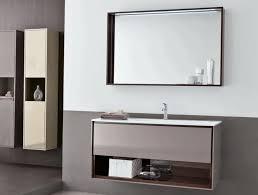 frameless picture hanging modern white glossy hanging cabinet square frameless mirror dark