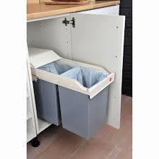 meuble cache poubelle cuisine meuble de rangement pour la cuisine beau meuble cache poubelle