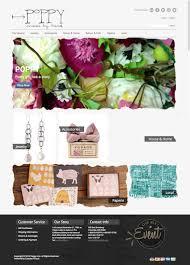 poppy made by hand website reveal u2022 hoot design co web design