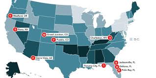 Palm Bay Florida Map This Map Of U S Divorce Rates Shows Where Marriages Go To Die