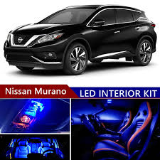 nissan murano cargo cover amazon com nissan murano 2009 2017 led premium blue light