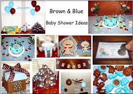 Baby Boy Shower Decorations by Baby Shower Decorations Boy Brown Blue Archives Baby Shower Diy