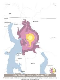 Bothell Washington Map by How Far Can You Go Isochrones Long Range Transit Plan