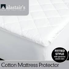 alastairs cotton cover mattress protector mattress protectors