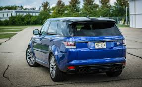 land rover range rover 2016 2016 land rover range rover sport svr cars exclusive videos and
