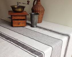 oval tablecloth etsy