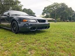 2002 Black Mustang Wheel Offset 2002 Ford Mustang Flush Lowering Springs