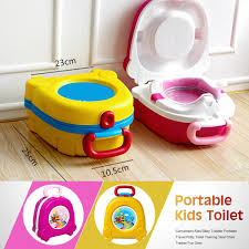 Kids baby toddler portable travel potty toilet training seat chair