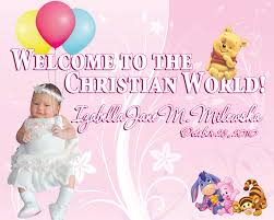 layout for tarpaulin baptismal invitation tarp izabella jane baptismal filipino web designer