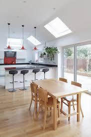 modern kitchen extension breakfast bar stools u shaped kitchen