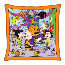 peanuts halloween pillows the danbury mint