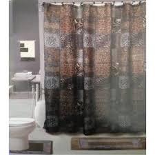 Shower Curtains Sets For Bathrooms by 18 Pc Bath Rug Set Animal Safari Leopard Zebra Print Shower