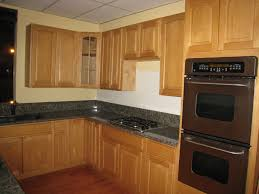 what color countertops with honey oak cabinets breathtaking apartment kitchen ideas showing outstanding kitchen