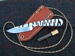 Blind Horse Knives Survival Tips Tools And Techniques Small Tiger Knapp By Blind