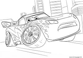 lightning mcqueen from cars 3 disney coloring pages printable