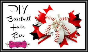 hair bow supplies how to make a baseball hair bow with a real baseball hairbow
