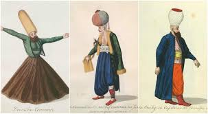 Ottoman Empire 19th Century Ottoman Fashion 19th Century Drawings Show Clothes And Ceremonial