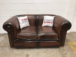 used chesterfield sofa superior two tone brown leather chesterfield sofa 2 seater l