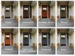 front door colors for gray house front door colors
