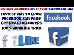 facebook fan page followers increase 100 original more likes and followers on facebook fan page