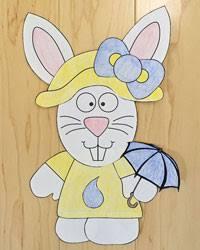 bunny rabbit crafts kids