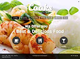 5 best responsive cooking and recipes themes in 2014