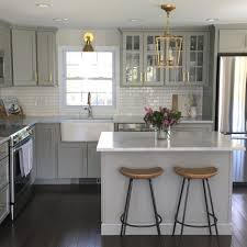 Kitchen Images With White Appliances Kitchens With White Appliances And Oak Cabinets Light Green Kitchen