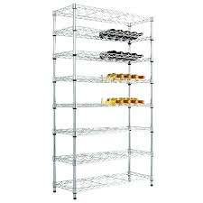 wine rack wine glass wire hangers chrome wire shelving full
