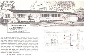 1950s ranch style home plans house design endear 1950 s corglife