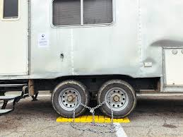 Walmart Trailer Tires When Staying At Walmart Ends Up In Chains U2014 Live Small Ride Free